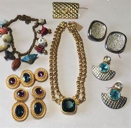 Vintage Christian Dior Set, Swarovski Vintage and more.