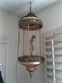 Hanging Goddess Rain Oil Lamp
