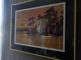 Local artist Herschel Stallard