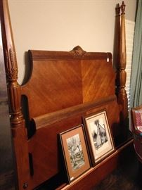 Gorgeous rice bed headboard and footboard