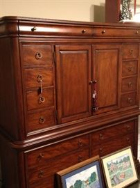 Extra large armoire