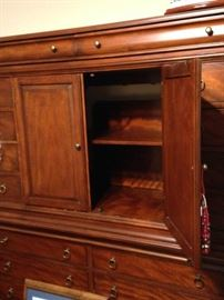 Extra large armoire with great storage spaces