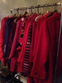 Great selection of jackets