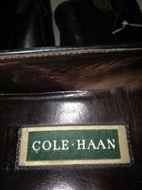 Shoe selections include Cole-Haan