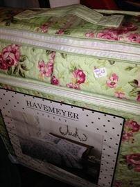 Havemeyer 3 piece full/queen quilt set