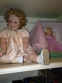 Two of several dolls