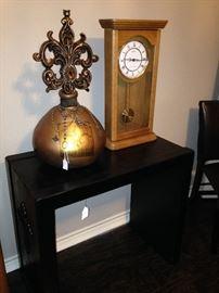 Large decorative piece; Seth Thomas clock