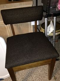 Chair for vanity area, desk, or sewing machine use
