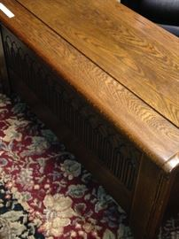 Antique chest - great for storage and a coffee table