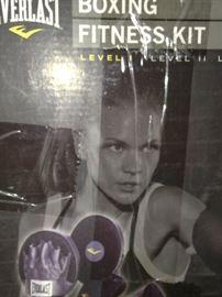 Everlast boxing fitness kit