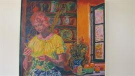 Louis Bartig Painting