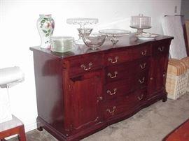 Mahogany buffet, 1940s