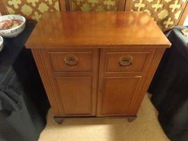 Mid- century mahogany bar  great condition