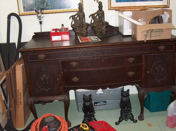 large dining buffet - antique