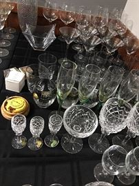 Crystal glass and stemware
