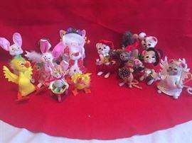 Annalee Holiday Figurines