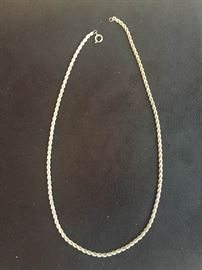 Sterling Silver 18 Inch Chain