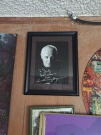 """Signed Anthony Hopkins picture,  """"To Judy"""""""