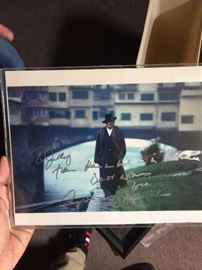 "Second Signed Anthony Hopkins picture,  ""To Judy"""