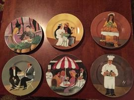Guy Buffet Dessert Plates