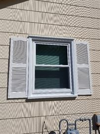 Replacement windows throughout; two years new