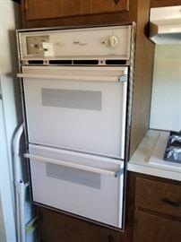 Caloric Prestige Series double wall oven