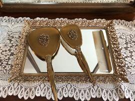 Woman's vanity set