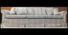 """Three cushion sofa. 90"""" x 42"""" x 34"""""""