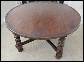 Coffee table 41.5 inches round X 22 inches tall