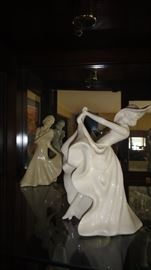 Art Deco Lady Figurines