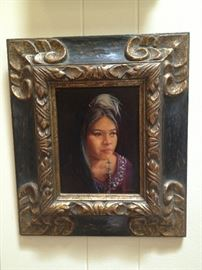 Glenna Goodacre Oil on Canvas