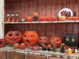 Vintage Halloween Items