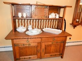 Incredible antique sideboard