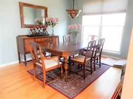 Antique Dining Suite,