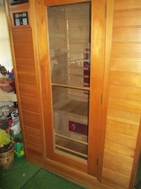 2-person Infrared Sauna Room by Keys Backyard (needs to be disassembled to be transported)