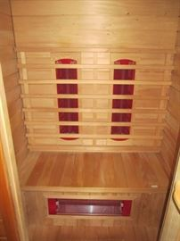 2-person Infrared Sauna Room by Keys Backyard