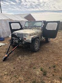 1994 Jeep Wrangler 4WD, 5 spd