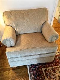 Ethan Allen overstuffed chair (1)