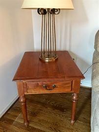 Ethan Allen side table (1)