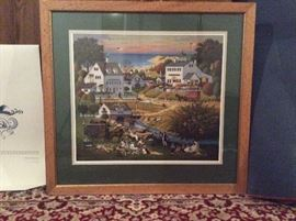 'Hound of the Baskervilles' Print by Charles Wysocki (#939/1950)  https://www.ctbids.com/#!/description/share/7213