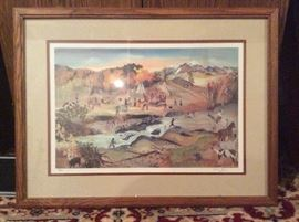 Indian Summer' Lithograph by Will Moses (#272/1000) https://www.ctbids.com/#!/description/share/7212
