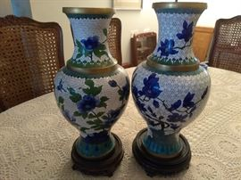 2 metal decorated Vases  http://www.ctonlineauctions.com/detail.asp?id=696067