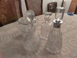 Lead crystal vase, 2 bowls and platter  http://www.ctonlineauctions.com/detail.asp?id=696071