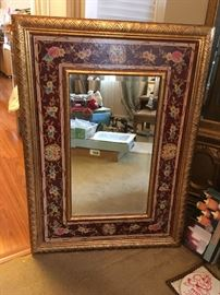 Nicely framed mirror