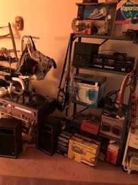 Electronics and audio equipment