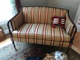 Sheraton Love Seat by Southwood Reproductions ==> As-Is for ONLY $750