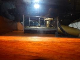 antique clocks, oak clocks, level wind, regulator, wall clocks
