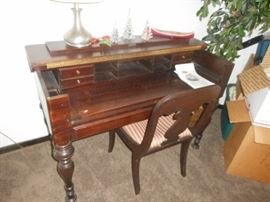 vintage spinet style desk, nice condition