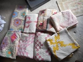 Vintage Hand made / sewn quilts