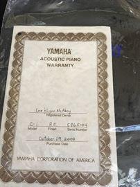 Yamaha Baby Grand  C-1